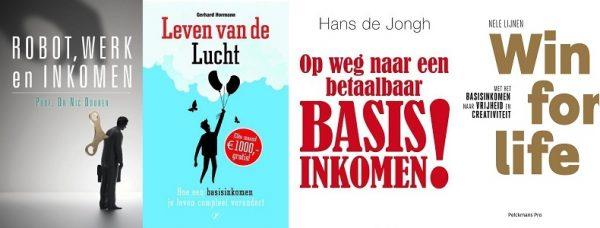 Bijeenkomsten over basisinkomen: boeken, promotie en onderzoek