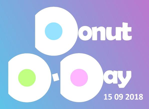 DONUT D-DAY zaterdag 15 september Amsterdam - Meld je nu aan!