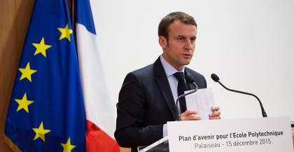 Macron: hoop voor serieuze aandacht voor basisinkomen