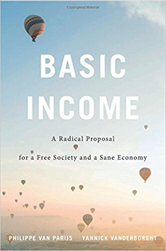Basic Income - A Radical Proposal for a Free Society and a Sane Economy Boek omslag