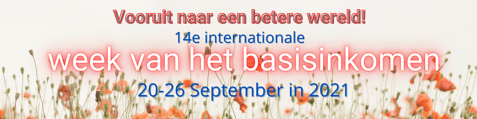 14e internationale week van het basisinkomen 20-26 september 2021