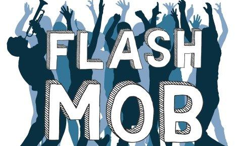 Doe mee met de flashmob in de week van het basisinkomen!