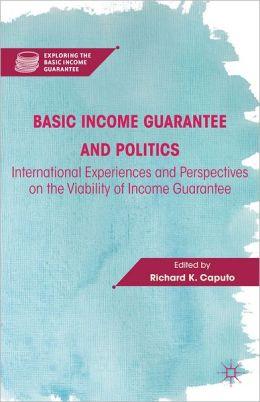 Basic Income Guaranty and Politics Boek omslag