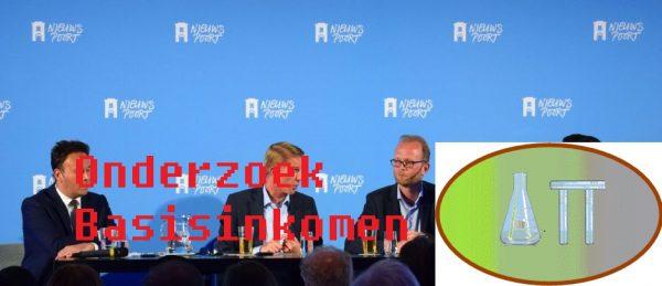 Een studiemiddag in Nieuwspoort over onderzoek naar het basisinkomen