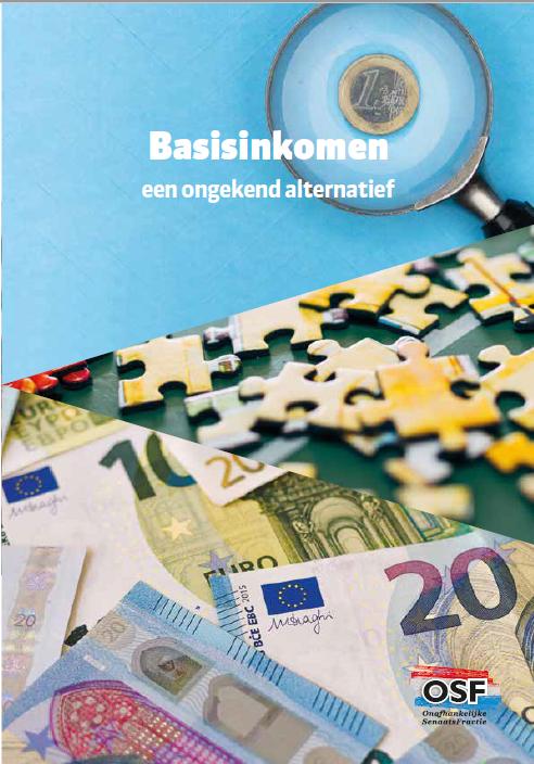 Basisinkomen, een ongekend alternatief Boek omslag
