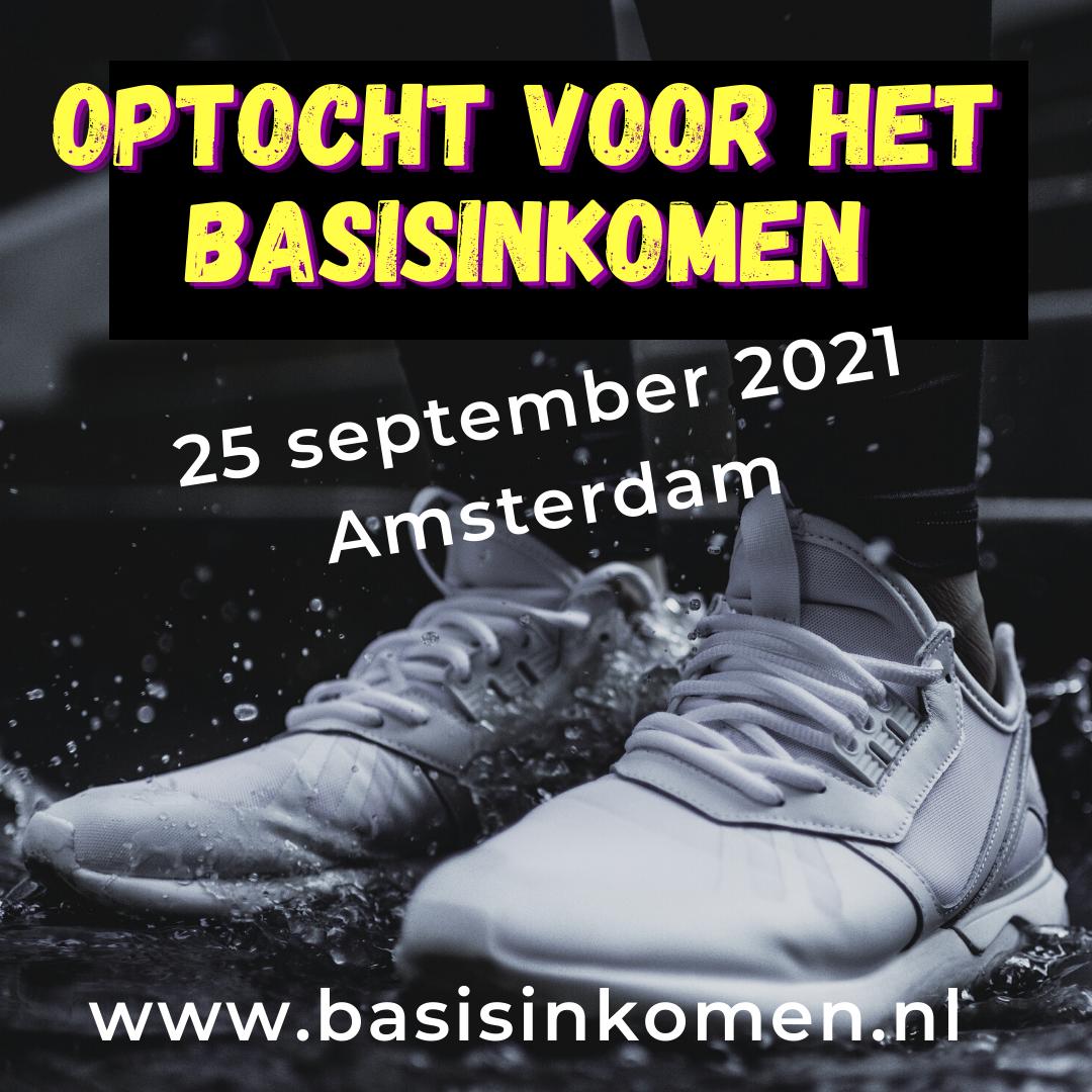 Optocht en symposium voor het Basisinkomen
