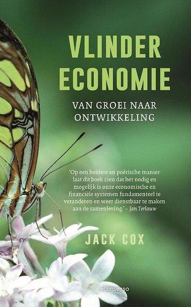 Vlindereconomie – van groei naar ontwikkeling Boek omslag