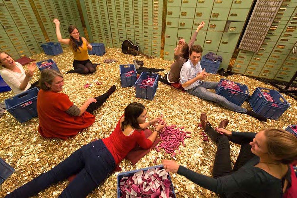 Vier keer basisinkomen in Nederland, hoe gaat dat?